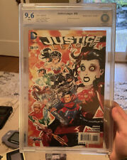 Justice League #39 CGC 9.6 White The New 52 4/2015 Harley Quinn Variant Cover