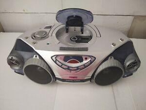 Philips BoomBox Cassette CD Radio Player Model # AZ2025/17