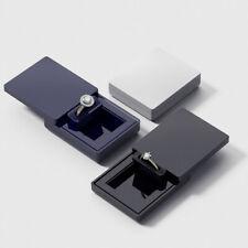 MONOLIX Slim Verlobungsring Box, dünne Schiebedeckel, für Überraschung MAXI