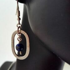 Handmade Lapis Lazuli Drop/Dangle Fine Earrings