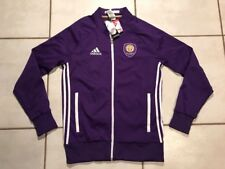 NWT ADIDAS Orlando City SC MLS Anthem Jacket Men's Medium MSRP $100