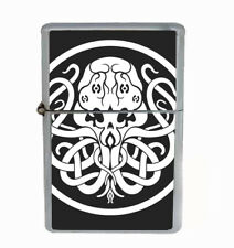 Cthulhu Monster Rs1 Flip Top Dual Torch Lighter Wind Resistant