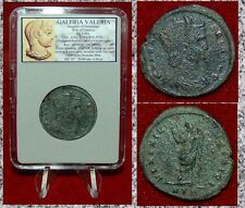 Ancient Roman Empire Coin GALERIA VALERIA Venus Holding Apple On Reverse