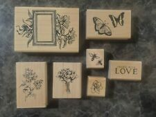 Victorian Gardens Wooden Stamp Set By Close To My Heart