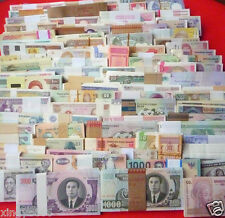All Genuine 102 PCS different Banknotes paper money from 30 Countries