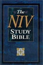 NIV Study Bible, Personal Size, Indexed
