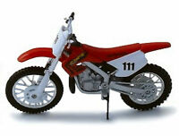 MAISTO 1:18 Honda CR250R MOTORCYCLE BIKE DIECAST MODEL TOY NEW IN BOX