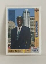 Dikembe Mutombo 1991-92 Upper Deck RC Rookie CARD #15 Denver Nuggets NBA Player