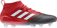 adidas Ace 17.1 Primeknit Soft Ground Mens Football Boots - Red