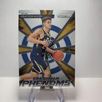 NBA 2018-19 Prizm Freshman Phenoms Rookie Card 5 Grayson Allen Utah Jazz