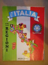 ALBUM Figurine Didattico L' ITALIA le sue Regioni Albi del Sapere anni 70 [P27]