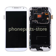 For Samsung Galaxy S4 i9500 LCD Display Touch Screen Digitizer Assembly +Frame