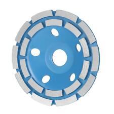 "125mm 5"" Diamond 2 Row Segment Grinding Wheel Disc Bowl Shape Grinder Cup X5T8"