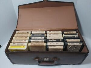22 8-Track Tapes in Case; Elvis, Roy Orbison, Willie Nelson, Kim Carnes, MORE!