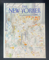 COVER ONLY ~ The New Yorker Magazine, February 1, 1988 ~ J. J. Sempe