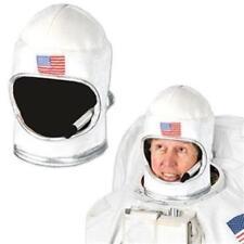 Adult Plush Astronaut Helmet Outer Space Party Decoration Costume Prop