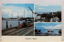 Maine ME Eastport Postcard Old Vintage Card View Standard Souvenir Postal Post