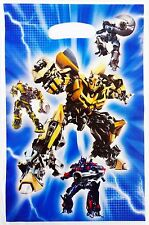 TRANSFORMERS BUMBLEBEE OPTIMUS PRIME PARTY LOOT/LOLLY BAGS - PACK OF 10