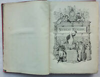 CHARLES DICKENS.THE LIFE & ADVENTURES OF NICHOLAS NICKLEBY.1890,ILLS, F BARNARD