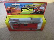 Solido Toner Gam II Mercedes Echelle #3101 Fire Ladder Truck MIB See My Store