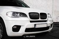 schwarz hochglänzende Nieren Set BMW X5 E70 Frontgrill Kühlergrill salberk 7001L