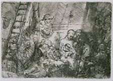 The Circumcision, 1654, REMBRANDT,  Baroque, Dutch Golden Age Art Poster
