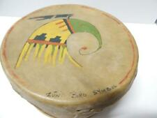 Vintage Eastern Sioux / Woodlands Indian Drum sgnd Winona