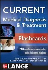 CURRENT Medical Diagnosis and Treatment Flashcards (LANGE CURRENT Series), , Qui