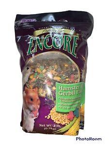 Brown's Encore Premium Hamster & Gerbil Food 2lb Bag Wholesome Seeds Pet Food
