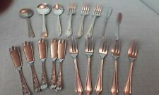 Job lot of dessert forks  and spoons