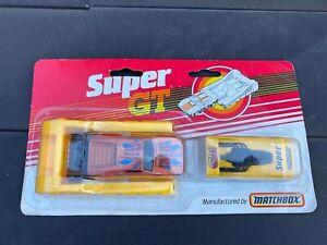 Matchbox Super GT Twin Pack - Rare Set 1980