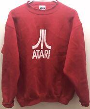 Vintage Original 2000 Atari Logo Sweatshirt, Red, Excellent Cond-Tultex-Medium