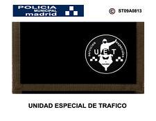 MONEDEROS POLICIALES: POLICIA MUNICIPAL DE MADRID / UNIDAD ESPECIAL DE TRAFICO
