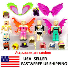 Legends of Roblox 4 PCS Roblox Action Figure Collection Doll Toys Gifts For Kids
