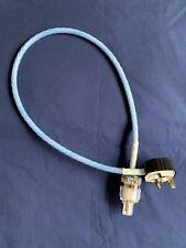 NORDOST BRAHMA Power Cord 88cm & IeGo Gold IEC MK Toughplug Hi-Fi Tuning Fuse