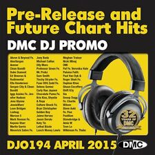 DMC Dj Seulement 194 PROMO diagramme disque de musique pour DJ-Double CD