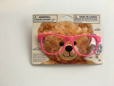 Build a Bear - Teddy Bear Accessory - Pink Rimmed Glasses ~ New