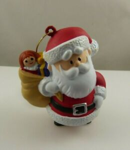 Santa Claus from Rudolph the red nosed reindeer Christmas ornament