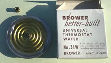 Brower 31W Universal Thermostat Wafer Gas Oil Electric Coal Brooders Incubators