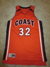 Coast Pirates High School Basketball Team Game Worn Used Jersey Womens Lg L