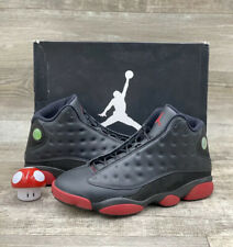 Nike Air Jordan XIII 13 Retro Black Red Dirty Bred White Size 11.5 414571-003