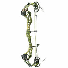 New PSE Evoke 35 EC Cam Compound Bow, RH, 60 to 70lbs, Mossy Oak Country
