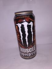 RARE 2013 Muscle Monster Energy COFFEE - ONE (1) Full, Sealed 15 oz Can
