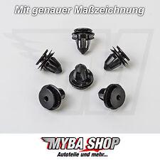 10x Türverkleidung Befestigungs Clips für VW Golf | 1K6837200B
