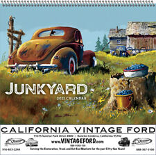 JUNKYARD CALENDAR 2021 by DALE KLEE / VINTAGE FORD