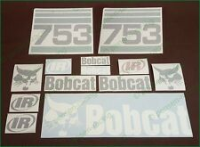 BOBCAT 753 Decals Stickers Full Set Kit SKID STEER Original Look Free Shipping