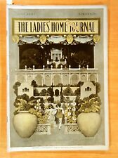 Maxfield Parrish Cover Art LADIES HOME JOURNAL Magazine June 1901 Country Clubs