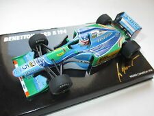 F1 Benetton Ford B 194 Schumacher Worldchampion 1994 Minichamps MSC #13 1:43 box