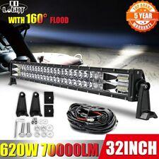 """22"""" 32"""" 42"""" 50"""" 52"""" Off Road LED Light Bar Spot Flood Work Lamp for 4x4  ATV SUV"""