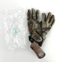 Jacob Ash Men's Razorback Fleece Hunting Gloves RealTree AP Camo 25-698-AP Large